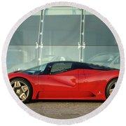 Ferrari Round Beach Towel