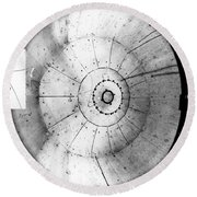First Neutrino Interaction, Bubble Round Beach Towel