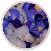 For The Love Of Van Gogh Round Beach Towel