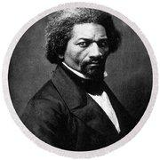 Frederick Douglass Round Beach Towel
