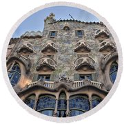 Gaudi Round Beach Towel