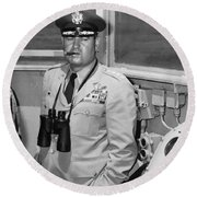 General Curtis Lemay Round Beach Towel by War Is Hell Store