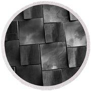 Geometrix Abstract Art Round Beach Towel