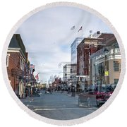 Ghost Of Lexington Round Beach Towel