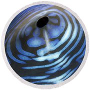 Giant Tridacna Clam Round Beach Towel