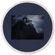 Gothic Round Beach Towel