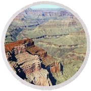 Grand Canyon27 Round Beach Towel