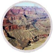 Grand Canyon29 Round Beach Towel