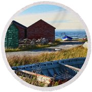 Gros Morne National Park, Canada Round Beach Towel