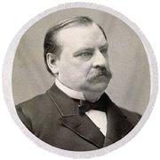Grover Cleveland (1837-1908) Round Beach Towel