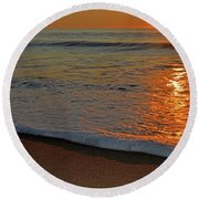 Guiding Light Round Beach Towel