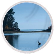 Hanging Out At Sunnyside Round Beach Towel