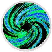 Harmony 24 Round Beach Towel