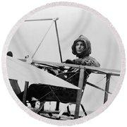 Harriet Quimby (1875-1912) Round Beach Towel