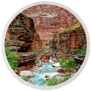 Havasu Round Beach Towel