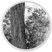Heaven's Tree Round Beach Towel