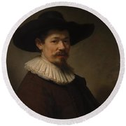 Herman Doomer Born About 1595 Died 1650 Round Beach Towel