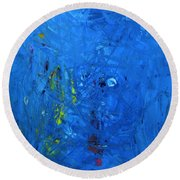 Higgs Disintegrating Round Beach Towel