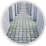Holocaust Memorial Round Beach Towel
