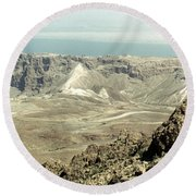 Holy Land: Masada Round Beach Towel