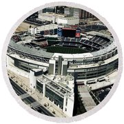 Home Of The Washington Nationals Round Beach Towel