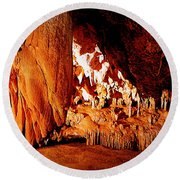 Hometown Series - Luray Caverns Round Beach Towel