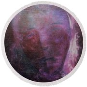 In Human Form Round Beach Towel