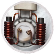 Inductors Round Beach Towel