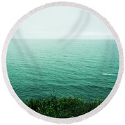 Infinite Sea Round Beach Towel