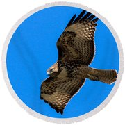 Intensity Round Beach Towel