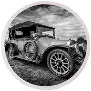 Iris Tourer 1912 Round Beach Towel