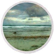 Isla De Mujeras North Shore Round Beach Towel