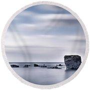 Isle Of Wight - England Round Beach Towel