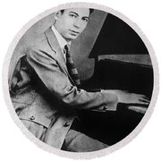 Jelly Roll Morton. For Licensing Requests Visit Granger.com Round Beach Towel