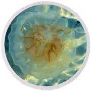 Jellyfish Round Beach Towel