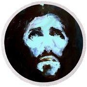 Jesus - 4 Round Beach Towel