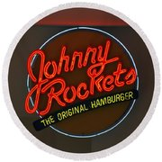 Johnny Rockets Round Beach Towel