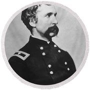 Joshua Lawrence Chamberlain  Round Beach Towel by War Is Hell Store