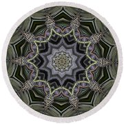 Kaleidoscope 96 Round Beach Towel