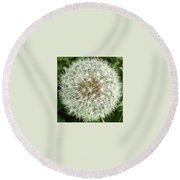 Kind Such As The Flower   Round Beach Towel