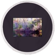 Lake Waterford Round Beach Towel