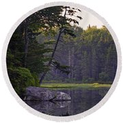 Lakeside Round Beach Towel