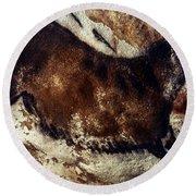 Lascaux: Horse Round Beach Towel