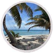 Laughing Bird Caye Round Beach Towel