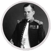 Lewis Chesty Puller - Two Round Beach Towel
