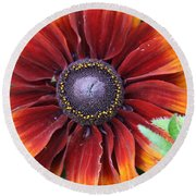 Little Sunshine Round Beach Towel
