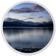 Loch Lomond Round Beach Towel
