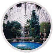 Longview Gardens Round Beach Towel