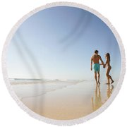 Love Round Beach Towel