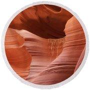 Lower Antelope Canyon 2 7934 Round Beach Towel
